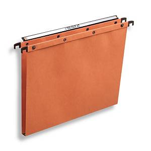 Elba AZO Ultimate suspension files drawers 15mm 330/250 orange - box of 25