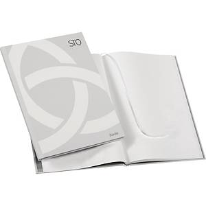 BANTES STO N/BOOK A4 PLAIN WH