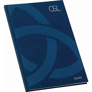 BANTEX OSL N/BOOK A4 LINED BLU