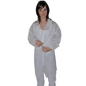 Blouse hygiène PP Hopen - blanche - taille XXL