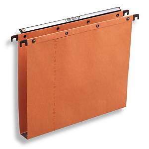 Elba AZO Ultimate suspension files drawers 30mm 330/250 orange - box of 25