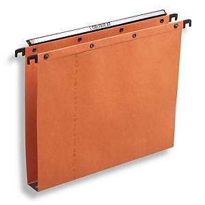 Dossiers suspendus Elba AZO Ultimate® pour tiroirs, 330/250, 30 mm, orange, 25x