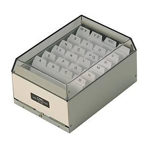 CARL 名片盒 可放 400 張