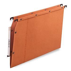 Elba AZV Ultimate® hangmappen kasten, 330/275, A4, V-bodem, oranje, per 25 stuks