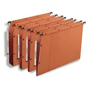 Elba AZV Ultimate® hangmappen kasten, 330/275, A4, 15 mm, oranje, per 25 stuks