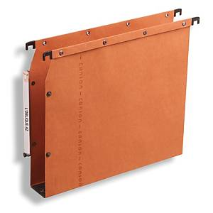 Elba Strongline AZV Ultimate Lateral Susp File A4 Orge 30mm Base - Box of 25