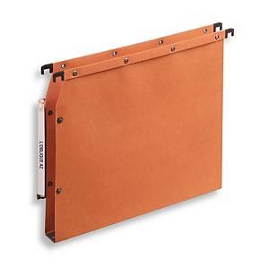 Elba AZV Ultimate® hangmappen kasten, 330/275, A4, 30 mm, oranje, per 25 stuks