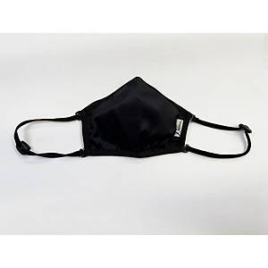 3-LAYER CERTIFIED REUSABLE R50 ADULT FACE MASK - BLACK