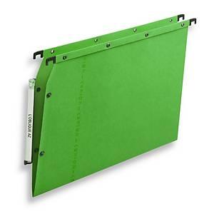 Elba AZV Ultimate® hangmappen kasten, 330/275, A4, V-bodem, groen, per 25 stuks