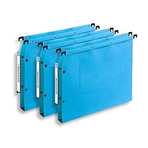 Elba AZV Ultimate® hangmappen kasten, 330/275, A4, 30 mm, blauw, per 25 stuks