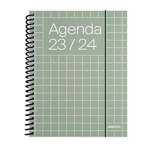 Agenda Additio universal - semana vista - 120 x 170 mm - castellano