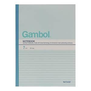 Gambol GA6407 筆記簿 混色 B5 - 每本40張紙