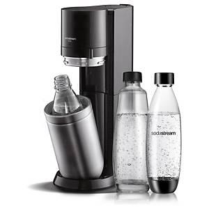 Gazéificateur d'eau SodaStream DUO, 840-1000ml,avec bouteille fuse/en verre,noir