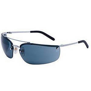 Schutzbrille 3M Metaliks Metal1Si, Scheibentönung grau, silber