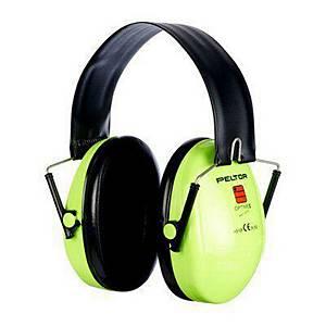 Kapselgehörschützer mit Kopfbügel 3M Optime I, 28dB, grün/schwarz
