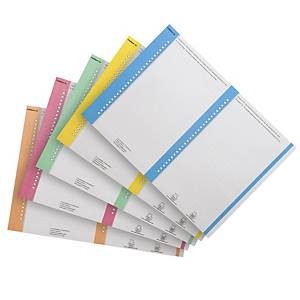 Elba tab inserts for suspension files nr.8 for cupboards assorti - pack of 10