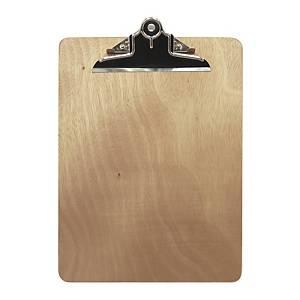 Wooden Clip Board F4