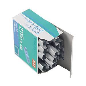 MAX No.B8 (2115-1/4) Staples - Box of 5000