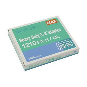 MAX No.23/10 (1210FA-H) Staples - Box of 1000