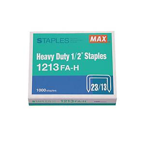 MAX No.23/13 (1213FA-H) Staples - Box of 1000