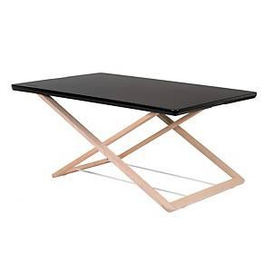 Prenosný pracovný stolík Freedesk original, čierny, 85 x 53 cm