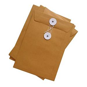 Brown Envelope with String 14 x 18 inch