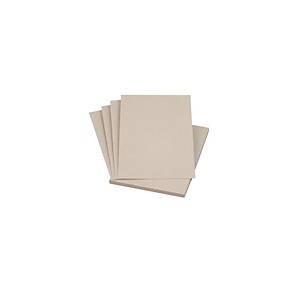 Carton 152 x 220 mm pour C5, 550g/m2, gris, emballage de 100 pièces