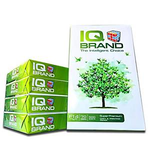 IQ COPY PAPER F14 70G WH - REAM OF 500 SHEETS