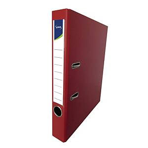 Lyreco 全包膠檔案夾 F4 2吋 紅色
