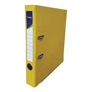 Lyreco 全包膠檔案夾 A4 2吋 黃色