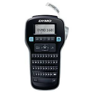 Dymo LabelManager 160P Qwerty + 3 D1 tapes 12 mm, black/white