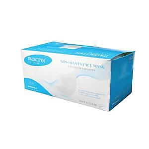 MICROTEX หน้ากากอนามัย 3ชั้น สีขาว แพ็ค 50 ชิ้น