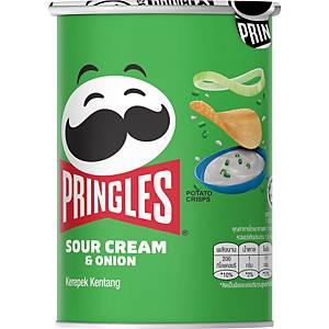 Pringles Sour Cream & Onion Potato Chip 36g - Box of 12
