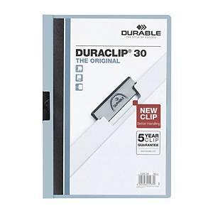 Durable 2200 Duraclip Folder A4 Blue