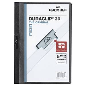Durable 2200 Duraclip Folder A4 Black