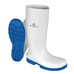 Stivali di protezione Deltaplus Kemis S4 CI SRC bianco tg 45