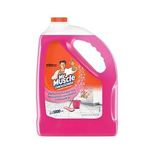 MR.MUSCLE FLOOR CLEANER FLORAL PERFECTION BOTTLE OF 5000 MILLILITERS