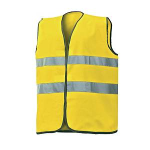 Gilet alta visibilità Issa 1210N giallo tg unica