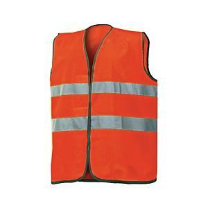 Gilet alta visibilità Issa 1210N arancione tg unica