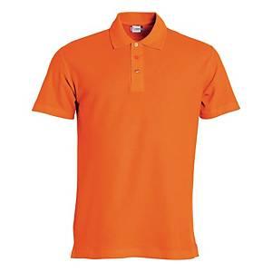 Polo manica corta Clique 028230 arancione tg M