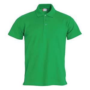 Polo manica corta Clique 028230 verde tg XS