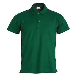 Polo manica corta Clique 028230 verde scuro tg M