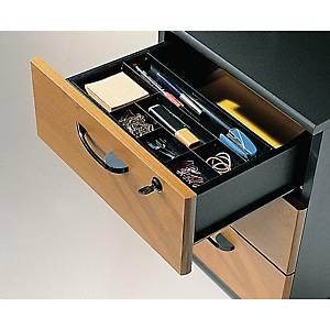 Organizador para gaveta Cep - 7 compartimentos - preto