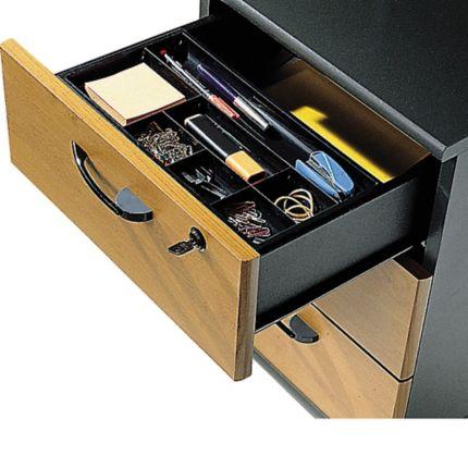 Organisateur de tiroir Cep - 7 compartiments - noir