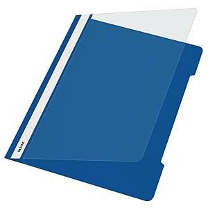 Schnellhefter Leitz 4191, A4, aus PVC-Folie, blau
