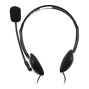 COMS IC442 WHIRE HEADSET 3.5MM BLK