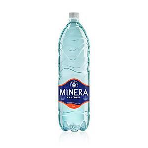 Minerální voda Minera, perlivá, 1,5 l, balení 6 kusů