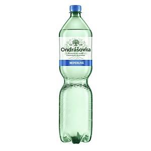 Minerální voda Ondrášovka, neperlivá, 1,5 l, balení 6 kusů