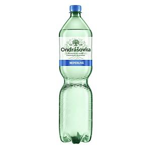 Minerálna voda Ondrášovka, neperlivá, 1,5 l, balenie 6 kusov