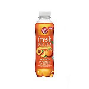 Ochucený nápoj Teekanne Fresh, ledový čaj - broskev, 0,5 l, balení 6 kusů